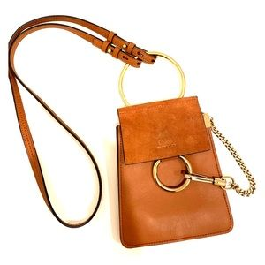 Chloe Faye Small Leather Bracelet Bag
